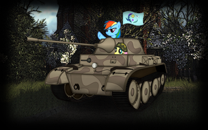 wallpaper: WOT/MLP crossover (screen 10) by crasydwarf