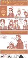 Character Obsession Meme :D by JJ-Power
