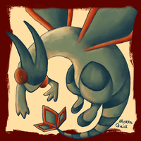 Pokemon Advent Challenge Day 5-Flygon by MokkaQuill