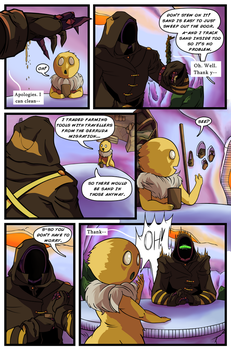Mecha and Stem Issue 1 pg.7 by Empty-Brooke