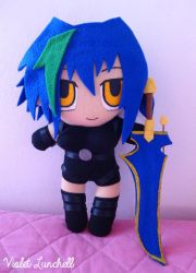 High School DxD Xenovia Quarta Plushie by VioletLunchell