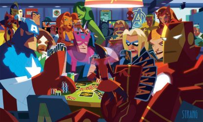 Avengers Ante Up by VonToten