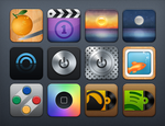 Quab HD Additional Icons by slipperydonkey