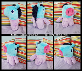 BT21 Mang Plush by CadaverousCreature