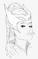photo realistic catra by Dean-Irvine