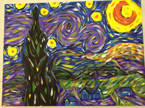 Starry night by samshull