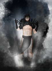 Melkor takes a physical body by black-cat16