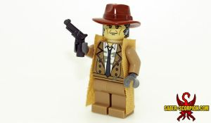 Nick Valentine LEGO Minifig by Saber-Scorpion
