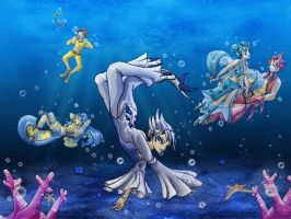 Pokemon Underwater