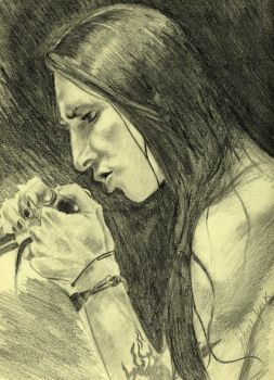 Portrait of Marilyn Manson by ShapeStrong