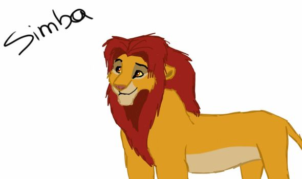 Simba by AnnieTiger