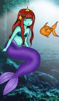 Mermaid Princess - color by theheatoftheart