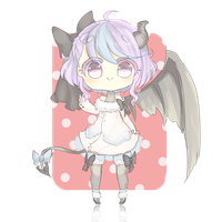 Cutie devil adoptable auction [CLOSED] by Iy-shu