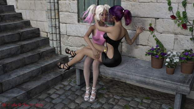 Mika and Shays in Tuscany 5 by ddpepsi