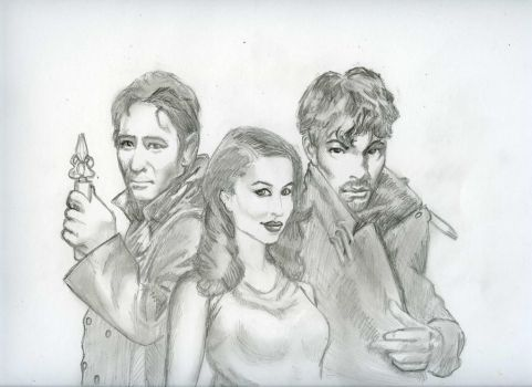 Doctor, Susan, and the Master by friendlyquark