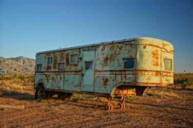 Old Martain Mobile Home by KyleOStreet