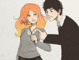 lily and james by kisaluvluv