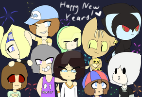 Happy New Years 2017! by IToastedAToaster