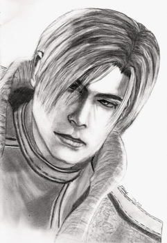 Leon S. Kennedy Finished by Emy--chan