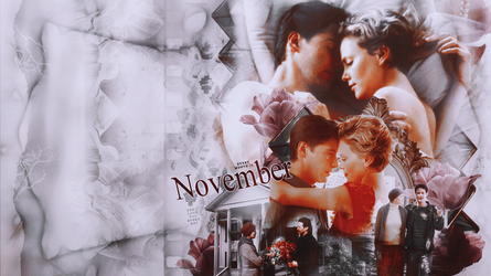 every month is november and i love you everyday by sasha9892