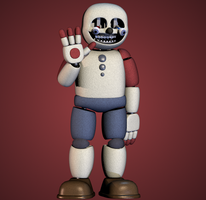 Buddy (Paper Pal Animatronic) by yoshipower879