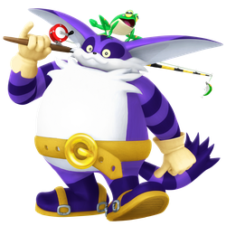 Big the Cat 2018 legacy Render by Nibroc-Rock