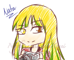 {Sketch Gift} Chibi Nata by NightmareQueenKasei