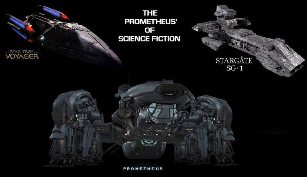 The Prometheus' of Science Fiction by DoctorWhoOne