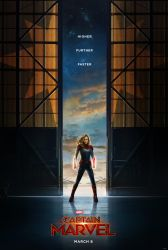 Captain Marvel official poster by vardhan30