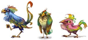 bird designs by betsybauer