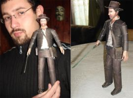 Indiana Jones Papercraft by ryo007