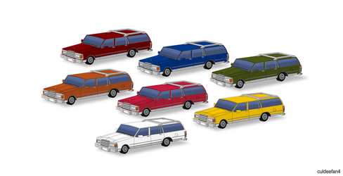 Chevrolet Caprice Wagon 1985 Collection by culdeefan4