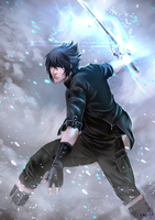 Noctis of Lucis - FFXV by Forty-Fathoms