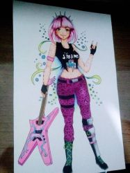 Power Chord Fortnite Fanart 3 by AylaAbrantes