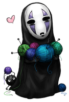 No-Face by krikdushi