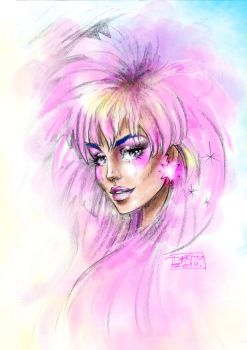 Me. I Am Jem ... the Truly Outrageous one (: by darkodordevic