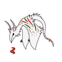 {ADOPT} Wintermint Candy Cane (OPEN) by LeDinoLord