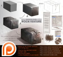 Tutorial: material study - worn rock by Seiorai
