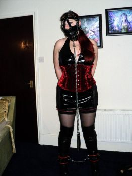 outfit I wore to London fetish fair 6 of 10  by KittenMadalina