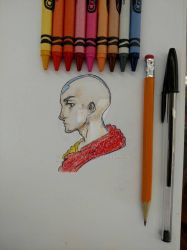 Aang by PassiveIre