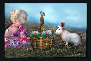 Emily and the Easter Bunny by LindArtz