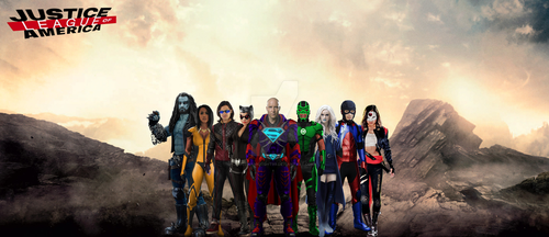 7. Justice League of America by GOTHAMKNIGHT99