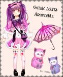 [CLOSED] Gothic Lolita Adoptable by Shis-Drim