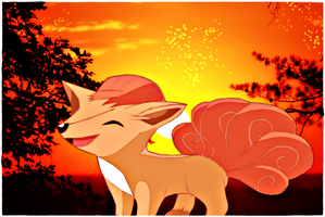 Vulpix by jagged66