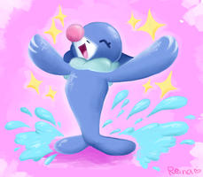 popplio!!!!! by loveliveidols
