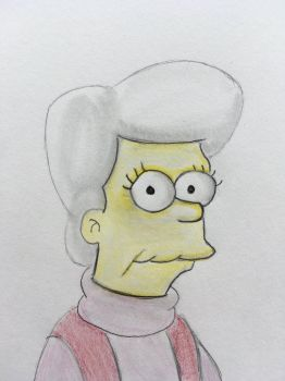 Mona Simpson by CaptainEdwardTeague