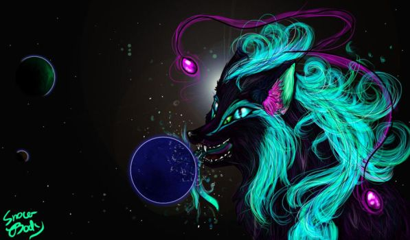 Planet Eater, drinks water by Snow-Body