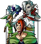 Ghirahim The Barber by Daboya
