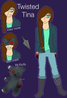 Creepypasta oc-Twisted Tina by Pinkwolfly