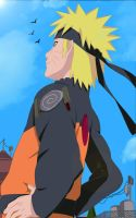 Naruto see the sky by Camidlss